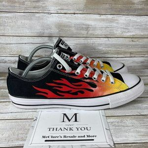 Converse Chuck Taylor All Star 70 Low Flame Sneakers, Unisex M 10, W 12- 166259F